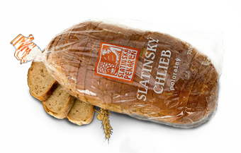 Slatinský chlieb Poloražný
