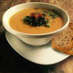 Moderná šošovicová polievka