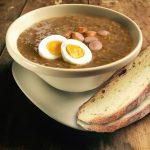 Tradičná šošovicová polievka
